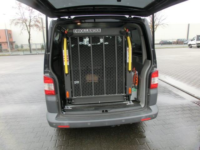 Personenlift für Kleintransporter